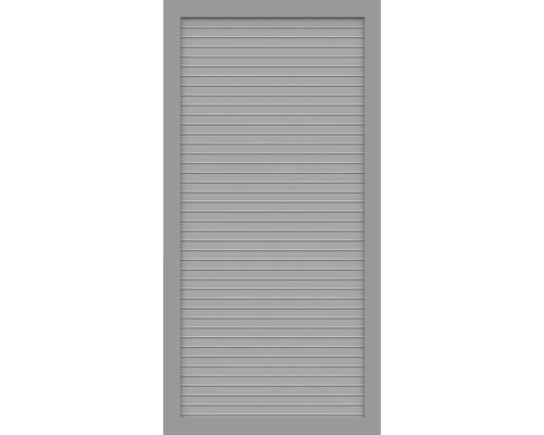 Element partial BasicLine tip T 90 x 180 cm, gri argintiu