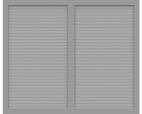 Element principal BasicLine tip U 180 x 150 cm, gri argintiu