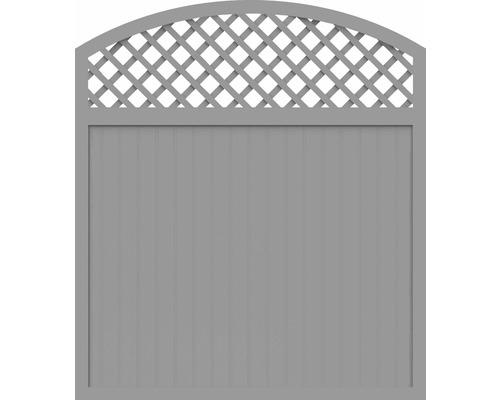 Element principal BasicLine tip X 180 x 205/180 cm, gri argintiu