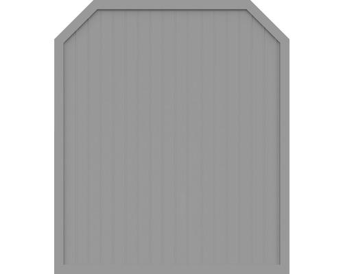 Element principal BasicLine tip J 180 x 210/180 cm, gri argintiu