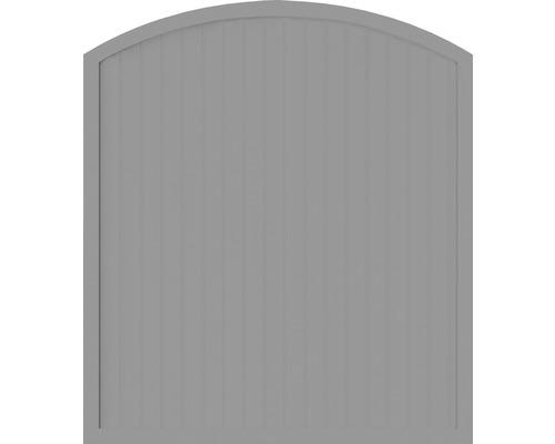 Element principal BasicLine tip F 180 x 205/180 cm, gri argintiu