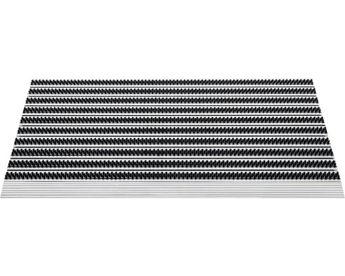 Covoras intrare aluminiu Topline antracit 50x80 cm