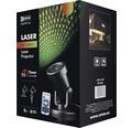 Proiector Emos cu laser IP44 cu telecomanda