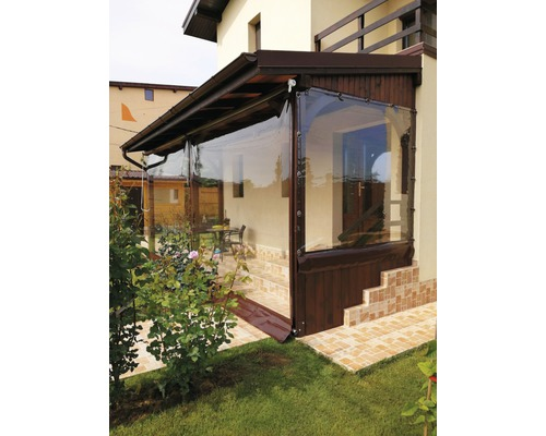 Folie de terasa cu capse si bride 1,4x2 m