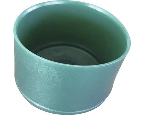 Capac PVC pentru stalp, 48 mm, verde