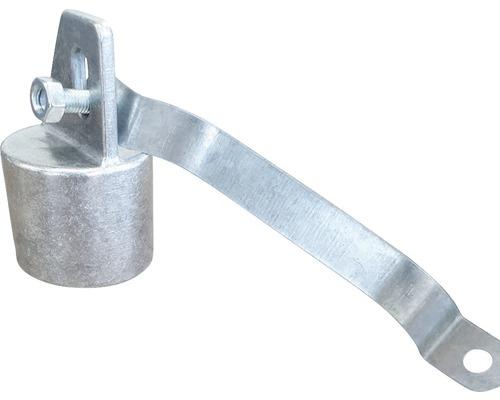 Capac, colier si surub M8 zincat 38 mm