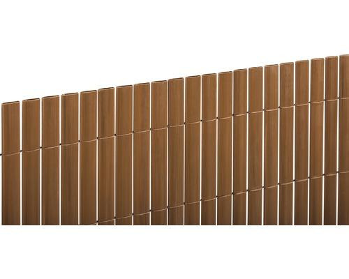 Paravan din PVC, 300 x 180 cm, teak