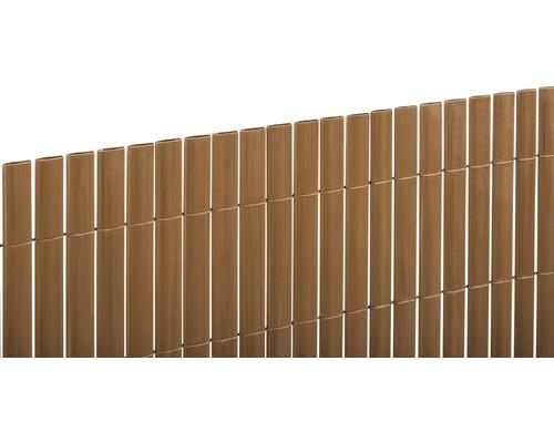 Paravan din PVC, 300 x 180 cm, nuc