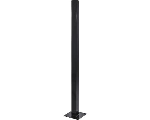 Stalp 50x50x1,5 mm, h 1,5 m, maro