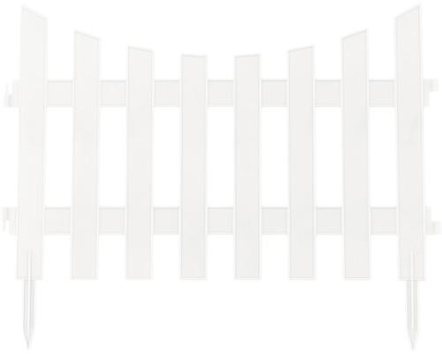 Gard decorativ PVC, 36х300 cm, alb