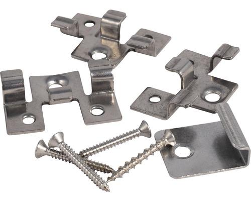 Set de montaj cu cleme pentru terasa WPC