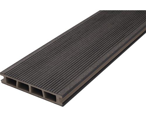Profil terasa antracit WPC 25x150x4000 mm