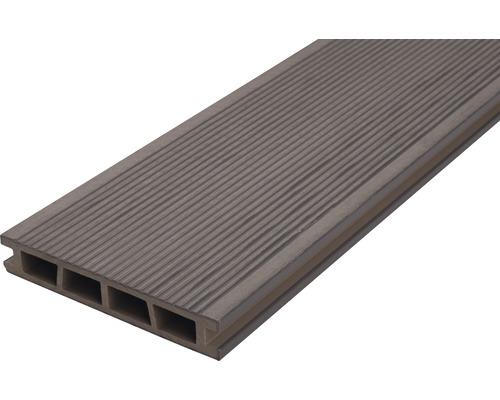 Profil terasa WPC gri 2400x150x25 mm