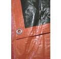 Prelata 140 gr/m² portocaliu-verde 2x3 m