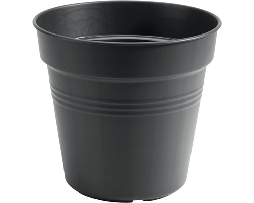 Ghiveci elho Green Basics, plastic, Ø 24 cm, negru