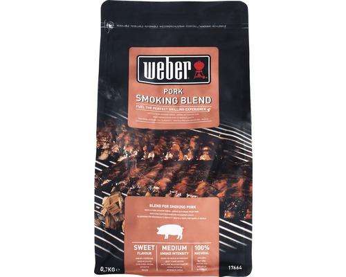 Weber aschii de afumare carne porc, 700g