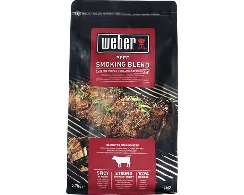 Weber aschii de afumare carne vita, 700g