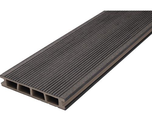Profil terasa grafit WPC 25x150x2400 mm