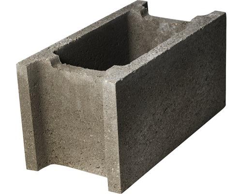 Boltar de fundatie fara cant 50x25x25 cm gri