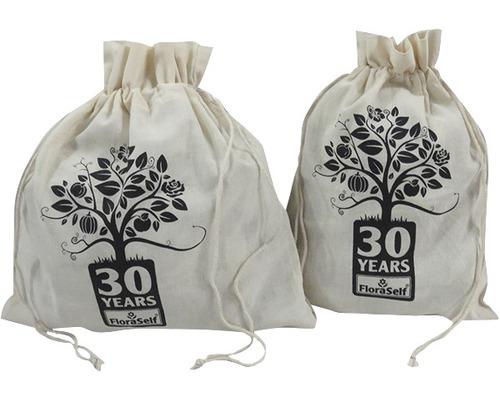 Set saci de bumbac FloraSelf ediția 30 ani, 5 buc.