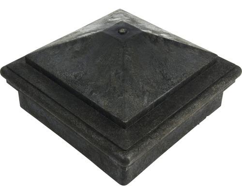 Capac piramidal pentru închiderea stâlpilor de gard WPC 90x90 mm