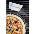 Piatră pizza modular, ceramică, 4,7x4,7x0,8 cm