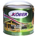 Lazura pe baza de apa Ecolasure extra Köber stejar inchis 2,5 l