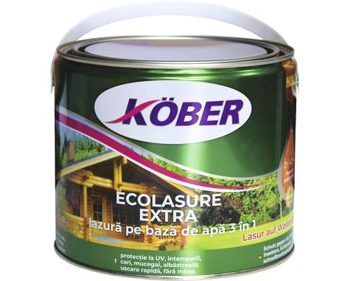 Lazura pe baza de apa Ecolasure extra Köber incolora 2,5 l
