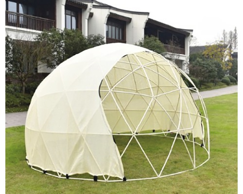 Igloo de gradina, Ø 3,6 m, H 2,2 m, transparent