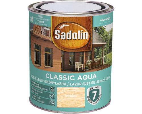 Lazura pentru lemn Sadolin Classic Aqua incolora 0,75 l