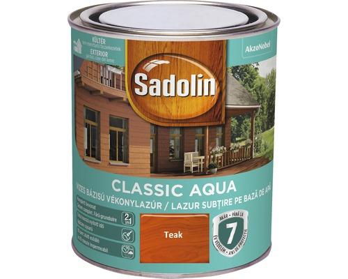 Lazura pentru lemn Sadolin Classic Aqua teak 0,75 l