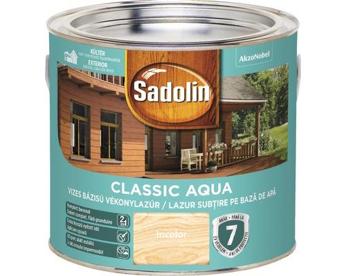 Lazura pentru lemn Sadolin Classic Aqua incolora 2,5 l