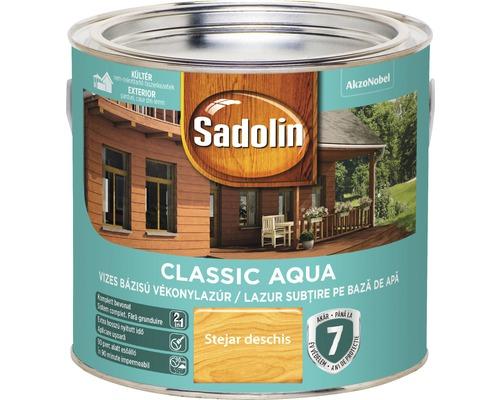 Lazura pentru lemn Sadolin Classic Aqua stejar deschis 2,5 l