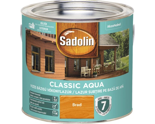 Lazura pentru lemn Sadolin Classic Aqua brad 2,5 l