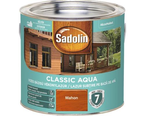 Lazura pentru lemn Sadolin Classic Aqua mahon 2,5 l