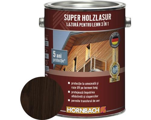 Lazura pentru lemn 3 in 1 Super Holzlasur palisandru 2,5 l