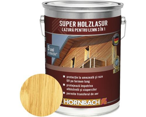 Lazură pentru lemn 3 în 1 Super Holzlasur pin 5 l