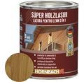 Lazura pentru lemn 3 in 1 Super Holzlasur stejar 0,75 l