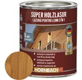 Lazură pentru lemn 3 în 1 Super Holzlasur teak 0,75 l