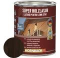 Lazura pentru lemn 3 in 1 Super Holzlasur palisandru 0,75 l