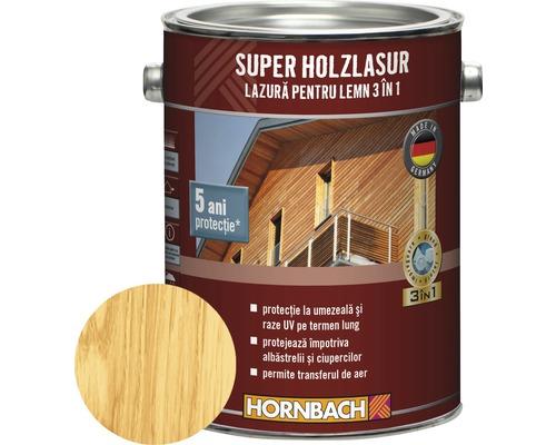 Lazura pentru lemn 3 in 1 Super Holzlasur pin 2,5 l