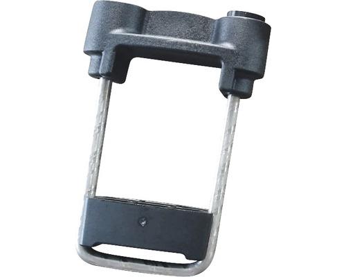 Accesoriu metalic tip colier tul,11x5x8 cm