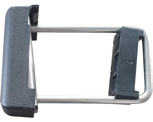 Accesoriu metalic tip colier H tul, 12x5x8 cm