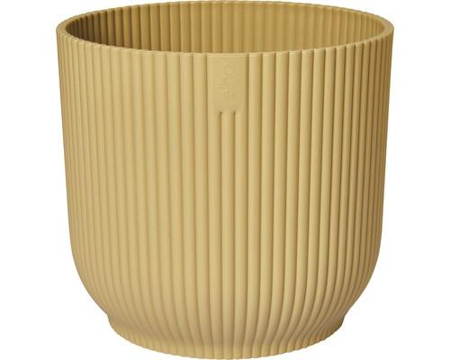 Masca pentru ghiveci Vibes, Ø 14 cm, H 12,9 cm, galben