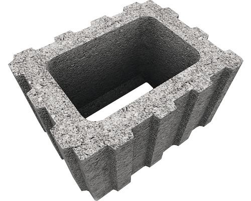 Jardiniera Elis J1 ciment 25x40x30 cm