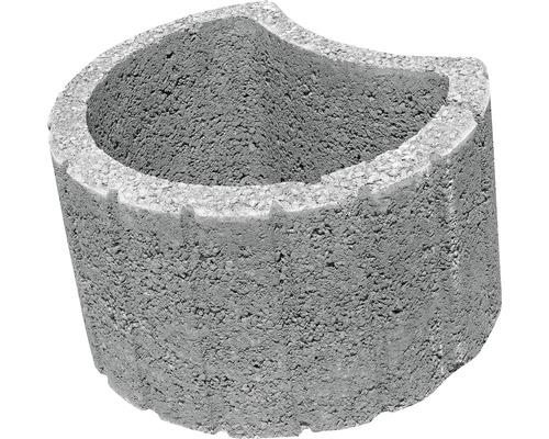 Jardiniera Elis J3 ciment 50x40x30 cm