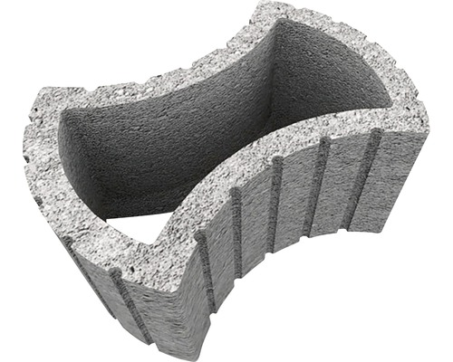 Jardiniera Elis J4 ciment 30x43x62 cm