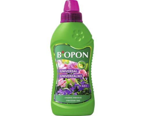 Pachet ingrasamant toamna Biopon granulat pentru gazon 1 kg + ingrasamant Biopon lichid universal 0,5 l