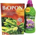 Pachet ingrasamant Biopon pentru conifere 1 kg + ingrasamant Biopon lichid universal 0,5 l