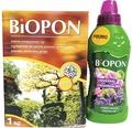 Pachet îngrășământ toamnă Biopon universal 1 kg + îngrășământ Biopon lichid universal 0,5 l